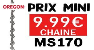 chaîne tronçonneuse ms170