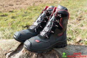 Bottines de bûcheronnage anti-coupures Oregon  Yukon T 42