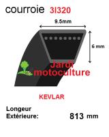 Courroie 3l320- longueur 813mm