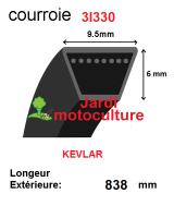 Courroie 3l330- longueur 838mm
