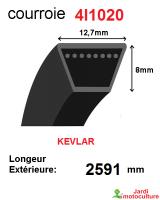 Courroie 4l1020- longueur 2591 mm