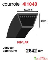 Courroie 4l1040- longueur 2642 mm