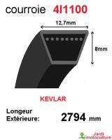 Courroie 4l1100- longueur 2794 mm