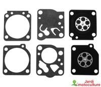 Membranes joints carburateur Zama GND1 / K015019