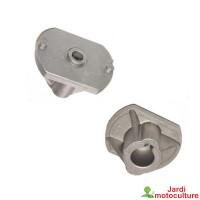 Support de lame pour castelgarden modèles twincut f72, tc92, tc102, tc122, sd98, sd108 - honda
