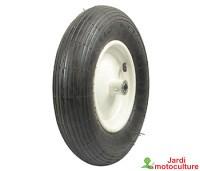 Roue en acier avec pneumatique 4.80 x 400 x 8