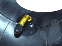Chambre à air valve coudée - dimensions: 13 x 500- 6, 13 x 600-6