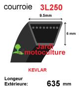 Courroie 3l250- longueur 635mm