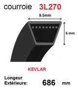Courroie 3l270- longueur 686mm
