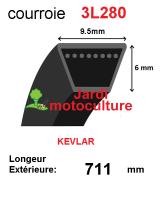 Courroie 3l280- longueur 711mm